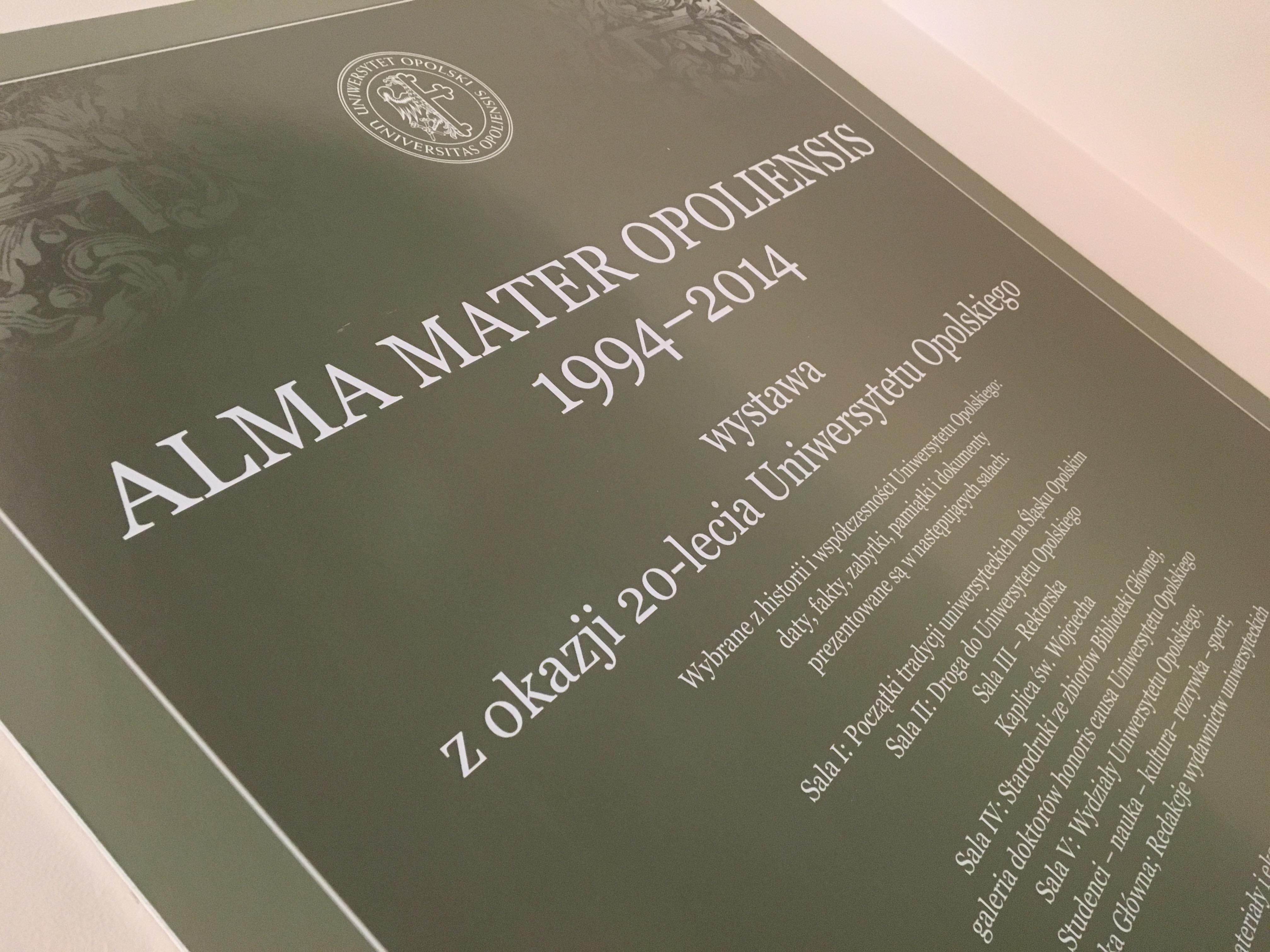 Alma Mater Opoliensis 1994-2014